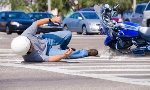 Motorcycle accident at intersection in Florida